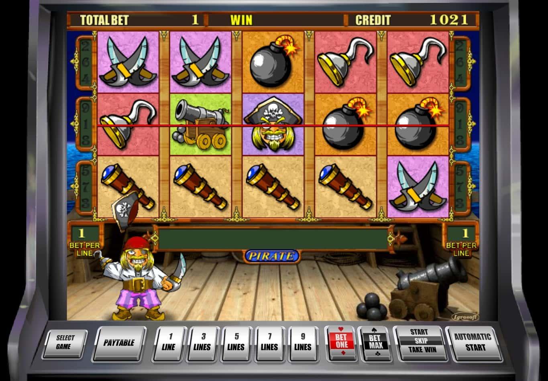 Игровой автомат Pirate Пират играть бесплатно онлайн