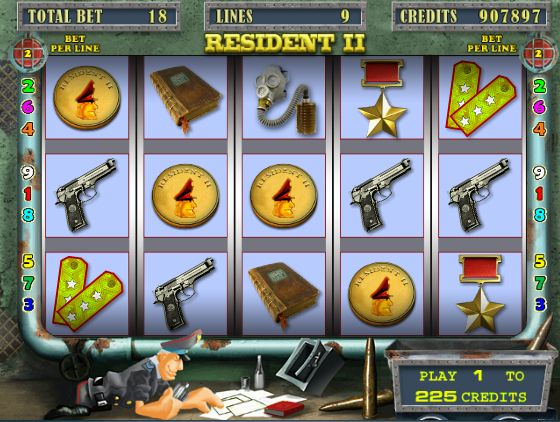 Игровой автомат Гараж Garage — играть