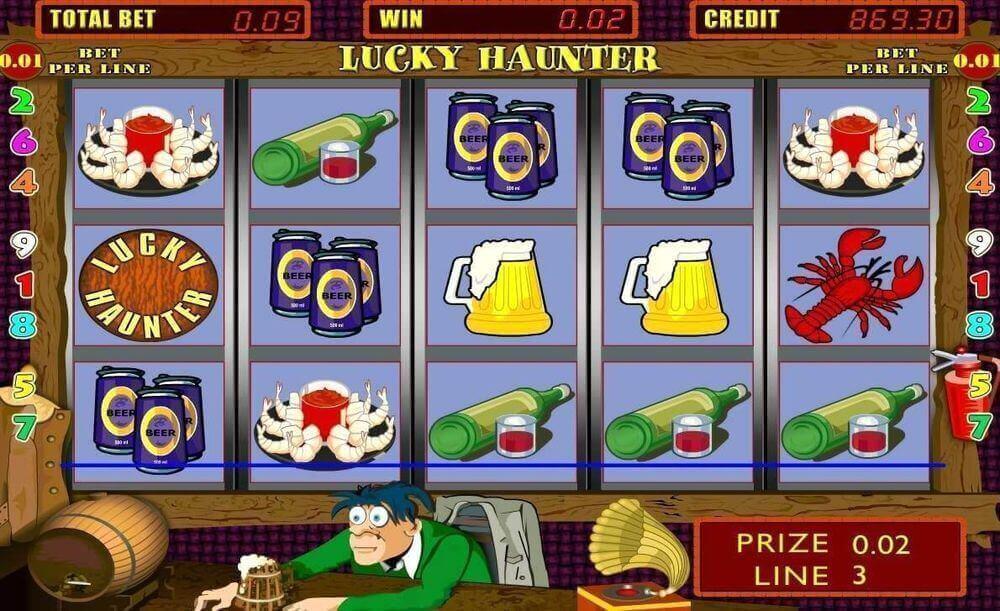 Игровой автомат Lucky Haunter.