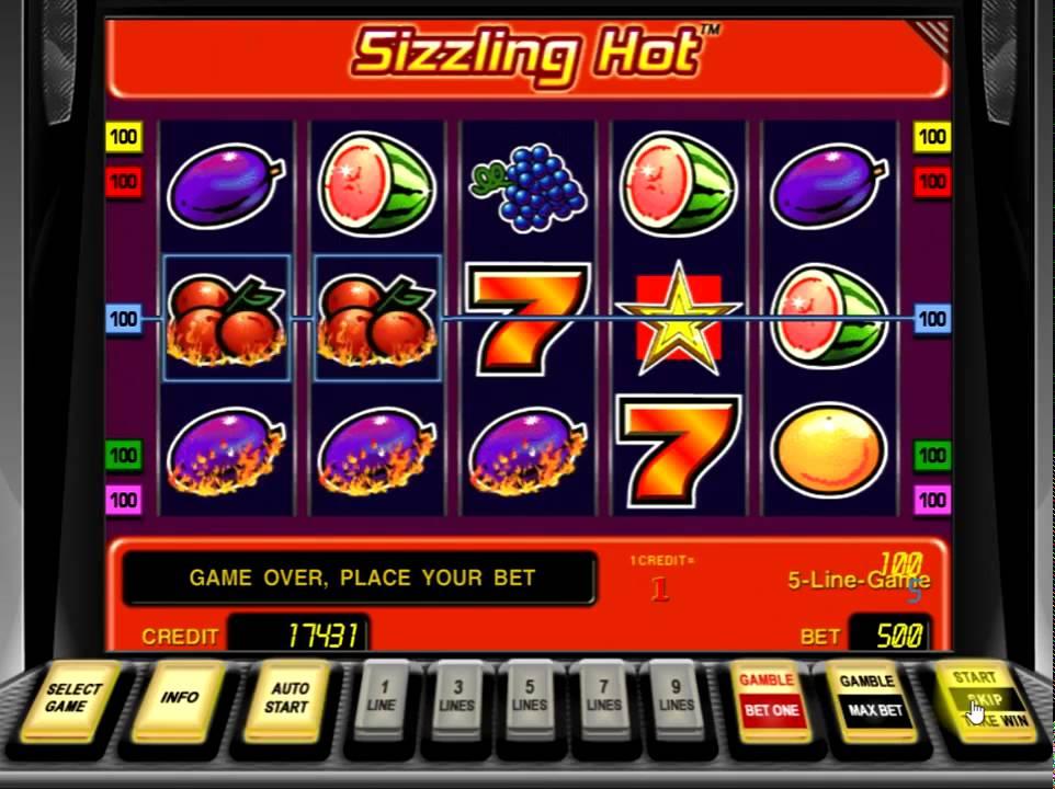 Игровой автомат Sizzling Hot бесплатно играть Компот без.