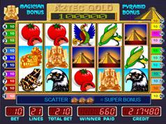 Игровой автомат Aztec Treasure - играть онлайн и бесплатно